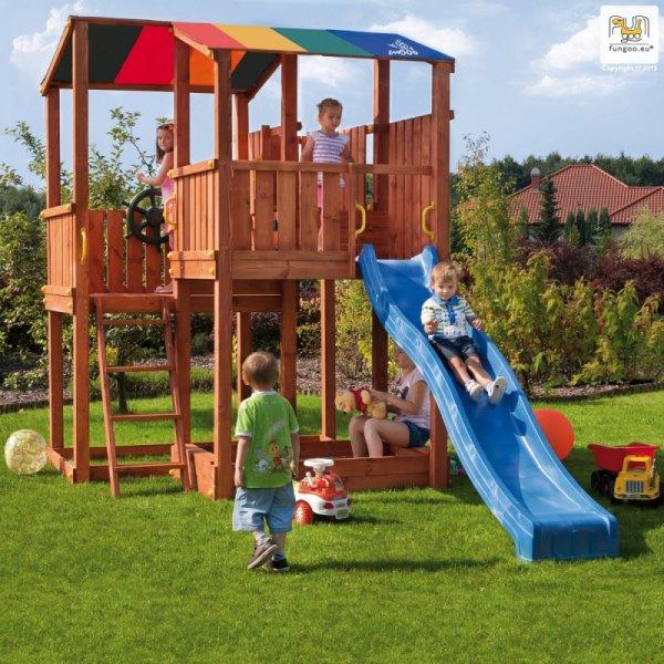 Детска площадка с пързалка Kingdom